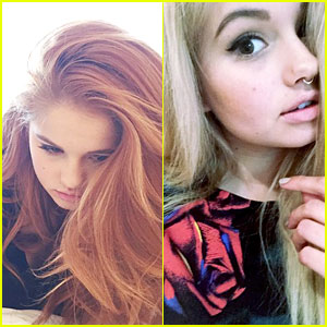 Debby Ryan Goes Back To Blonde After New York City Trip