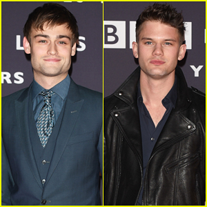 Douglas Booth & Jeremy Irvine Heat Up BBC Films 25th Anniversary!