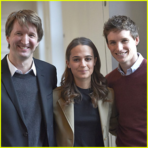 Eddie Redmayne Brings 'The Danish Girl' to Copenhagen With Alicia Vikander
