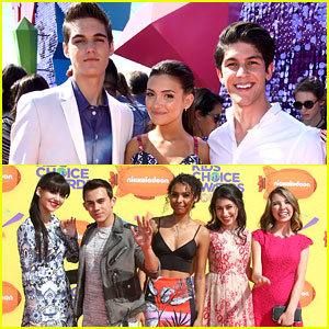 Nick Merico, Rahart Adams, Zoey Burger & More Thank Fans For Voting After Kids Choice Awards 2015