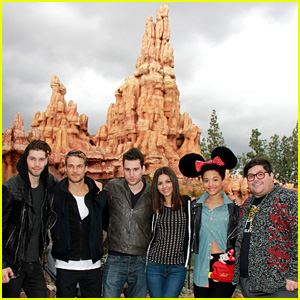 Victoria Justice Takes Disneyland By Storm With the 'Eye Candy' Cast!