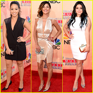 Gina Rodriguez, Jessica Szohr, & Ariel Winter Look Chic at the iHeartRadio Awards 2015