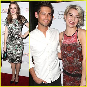 Chelsea Kane & Jean-Luc Bilodeau Raise The Bar For Parkinson's Research