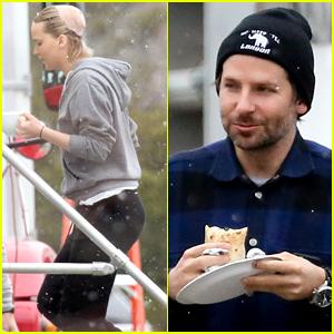 Jennifer Lawrence & Bradley Cooper Work on 'Joy' in Chilly Boston!