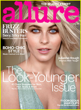 Julianne Hough Reflects On Her 'Crazy Eyes' Halloween Costume in April 2015 Issue of 'Allure'