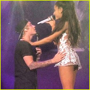 Watch Ariana Grande & Justin Bieber Duet on Stage!
