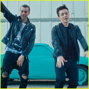 Kalin & Myles Release Super Fun 'Trampoline' Video - Watch Now!