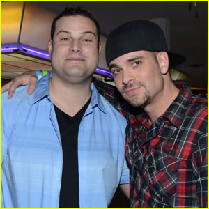 Mark Salling Stages 'Glee' Reunion with Max Adler at JJ's Throwback Thursday Party!