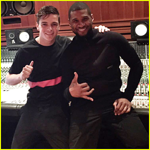 Martin Garrix Teams Up with Usher on New Single 'Don't Look Down' - Watch The Lyric Video Here!