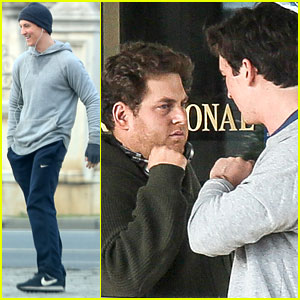 Miles Teller Runs All Over Bucharest For 'Arms & The Dudes' Filming