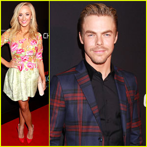 Nastia Liukin Supports Derek Hough At 'New York Spring Spectacular' Opening Night