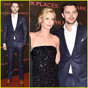Nicholas Hoult Looks So Dapper & Dreamy at 'Dark Places' Paris Premiere