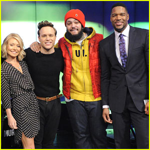 Olly Murs Gets 'Wrapped Up' On 'Live! With Kelly and Michael'