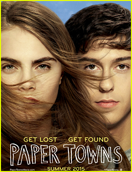 Cara Delevingne & Nat Wolff: 'Paper Towns' Official Poster!