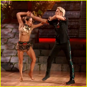 Riker Lynch Went Shirtless During His Salsa with Allison Holker on 'DWTS' - Watch Now!