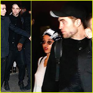 Robert Pattinson & FKA twigs Wrap Up Their Night In Paris