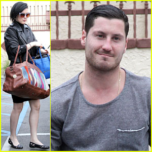 Rumer Willis & Val Chmerkovskiy Return To LA Before 'DWTS' Premiere Next Week
