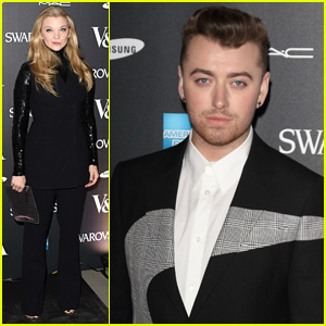Sam Smith & Natalie Dormer Check Out Alexander McQueen's Exhibit in London