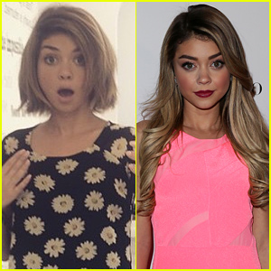 Sarah Hyland Cuts Her Hair Into a Bob - See the New Pic!