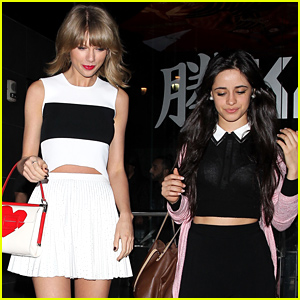Taylor Swift & Camila Cabello Hang Out T