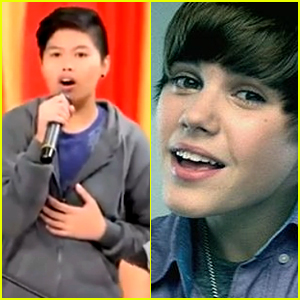Alexis Calipsuan Sounds Exactly Like Justin Bieber on 'Baby'!