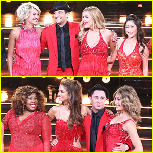 Chelsea Kane, Amy Purdy & Amber Riley Heat Up DWTS' 10th Anniversary Special With Mark Ballas & A 'Bromance' Dance!