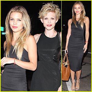 AnnaLynne & Angel McCord Have Sister Bonding Time at Craig's