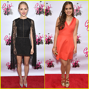 AnnaSophia Robb & Carly Rose Sonenclar Get Dressy at 'Gigi' Opening Night