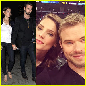 Ashley Greene & Kellan Lutz Have a Mini 'Twilight' Reunion!