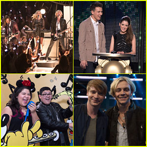 R5 Rock Out At Radio Disney Music Awards with 'Austin & Ally' Cast