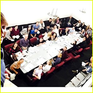 Ross Lynch & More Stars Share Last 'Austin & Ally' Table Read Photos!