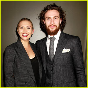 Elizabeth Olsen & Aaron Taylor-Johnson Assemble with 'Avengers' for NYC Premiere!