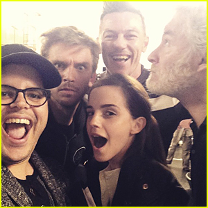 'Beauty and the Beast' Cast Look Beyond Excited on Movie Set