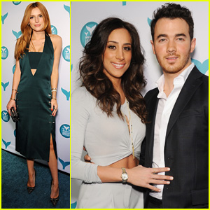 Bella Thorne & Kevin Jonas Step Out for Shorty Awards 2015