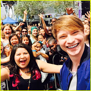 Calum Worthy & Raini Rodriguez Get The Party Started at RDMAs 2015!