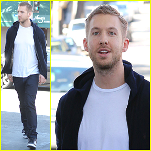 Calvin Harris Looks Good & Well After Battling Food Poisoning