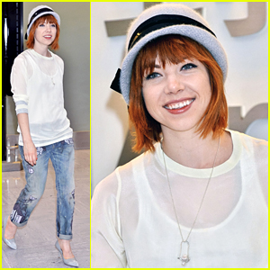 Carly Rae Jepsen Heads To Tokyo After 'Emotion' Album Announcement