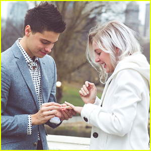 Debby Ryan's Brother Chase Brings Out All The Romance For Marraige Proposal To Girlfriend Sarah