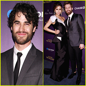 Darren Criss Shows Love & Support for Matthew Morrison at 'Finding Neverland' Opening Night After Party