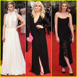 Dianna Agron & Pixie Lott Go Glam for Olivier Awards in London