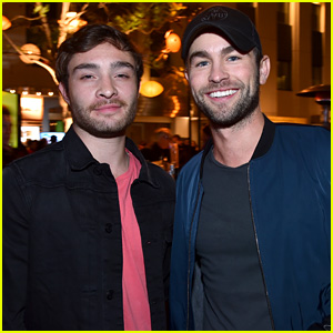 'Gossip Girl' Reunion Alert! Chace Crawford & Ed Westwick Step Out for a Good Cause