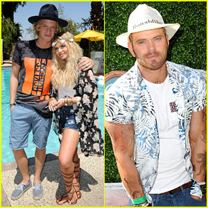 Cody & Alli Simpson Have Brother-Sister Time at Coachella!