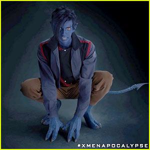 Kodi Smit-McPhee Goes Blue as X-Men's Nighcrawler - First Photo!