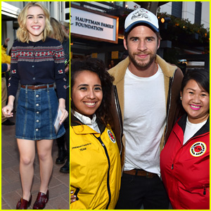 Kiernan Shipka & Liam Hemsworth Celebrate Spring Break With City Year Los Angeles
