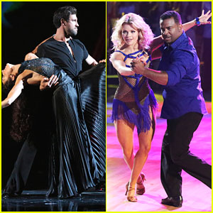 Meryl Davis & Maksim Chmerkovskiy Have A Dance Showdown on 'DWTS' 10th Anniversary Special - See The Pics!