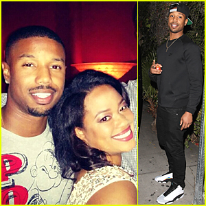 Michael B. Jordan & Sis Jamila Brighten Our Day With Their Smiles