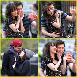 Nicholas Braun & Dakota Johnson Are The Cutest Couple Ever On 'How To Be Single' Set