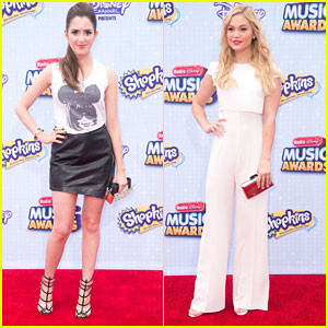 Laura Marano Wears Cute Anna Wintour Mickey Mouse Tee To RDMAs 2015