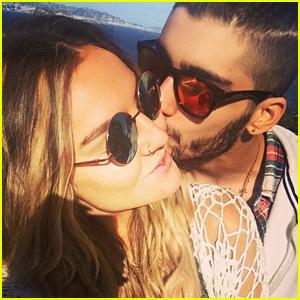 Zayn Malik Kisses Perrie Edwards in Cute Instagram Pic