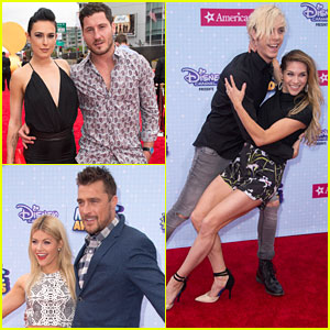 Riker Lynch & Allison Holker Hit Up RDMAs with Rumer Willis & Val Chmerkovskiy